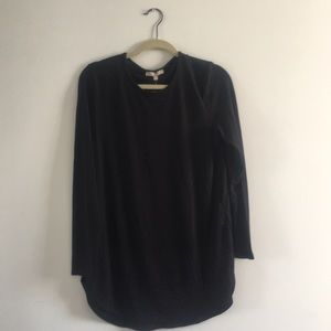 Joan Vass Black Tunic